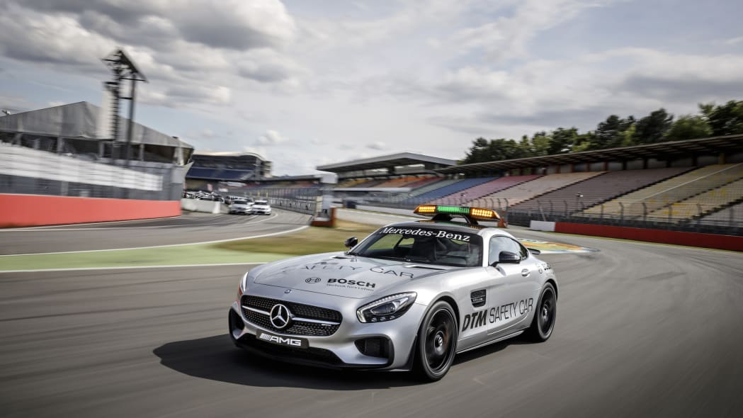 Mercedes-AMG GT DTM Safety Car track front 3/4