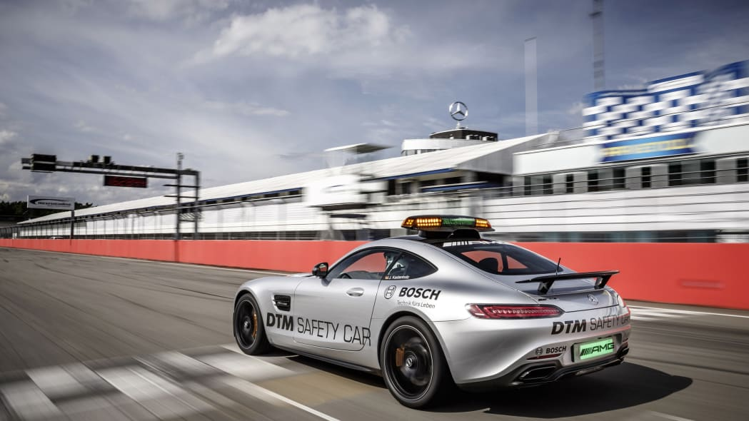Mercedes-AMG GT S DTM Safety Car track rear 3/4