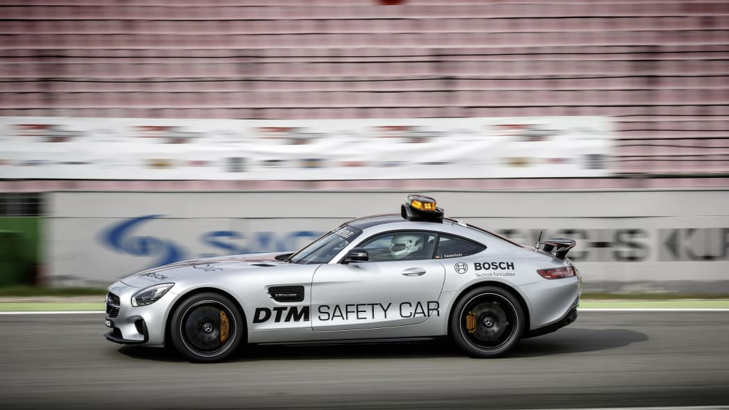 Mercedes-AMG GT DTM Safety Car track side