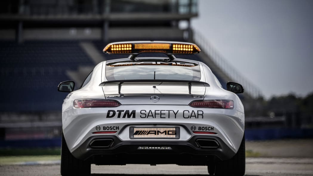 Mercedes-AMG GT DTM Safety Car track rear