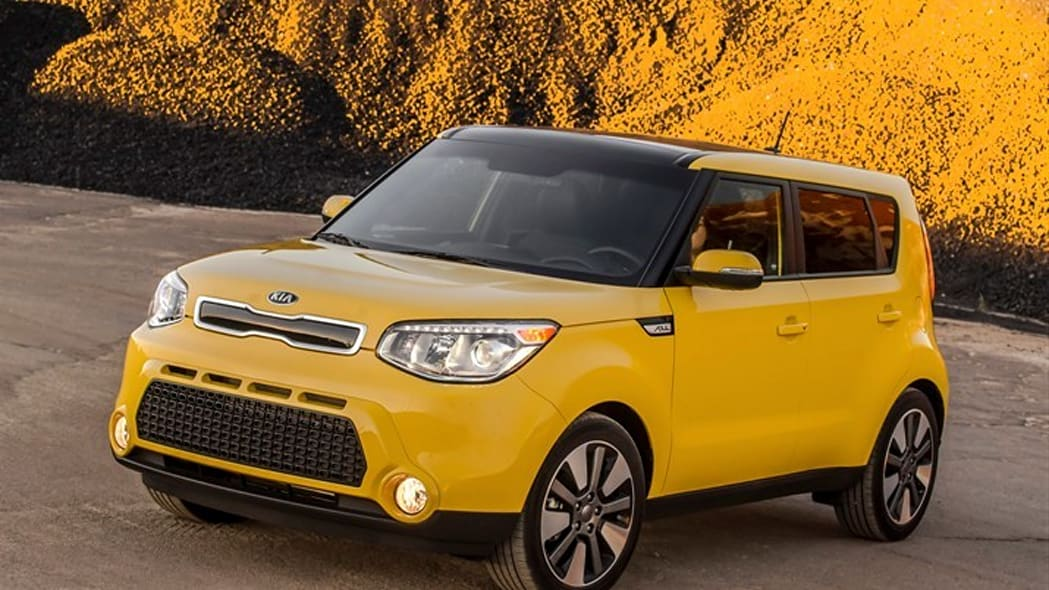 2015 Kia Soul yellow