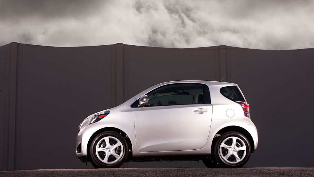 2015 Scion iQ silver