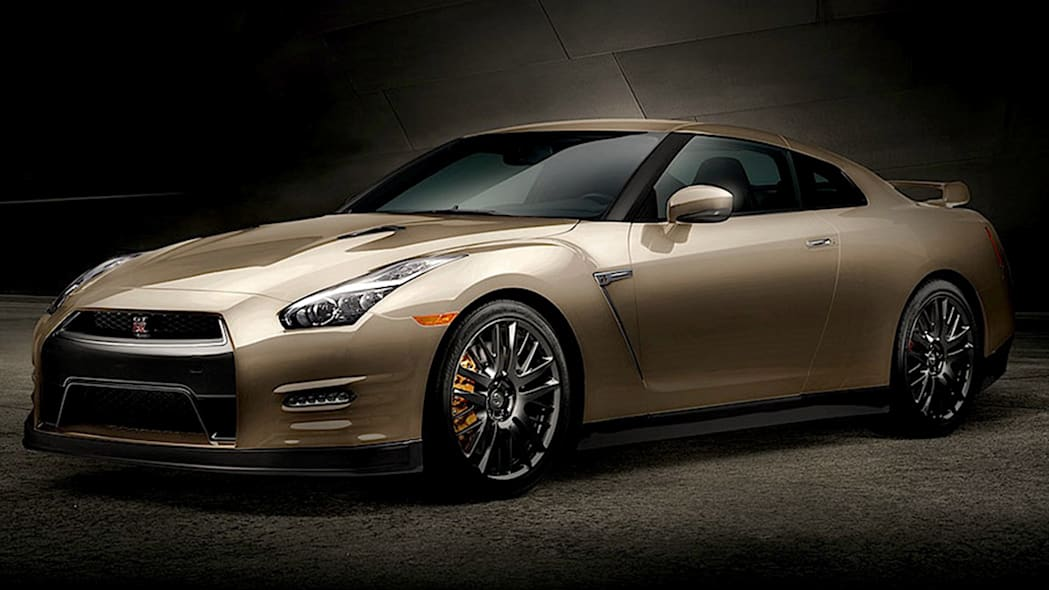2016 Nissan GT-R Premium 45th Anniversary Gold Edition
