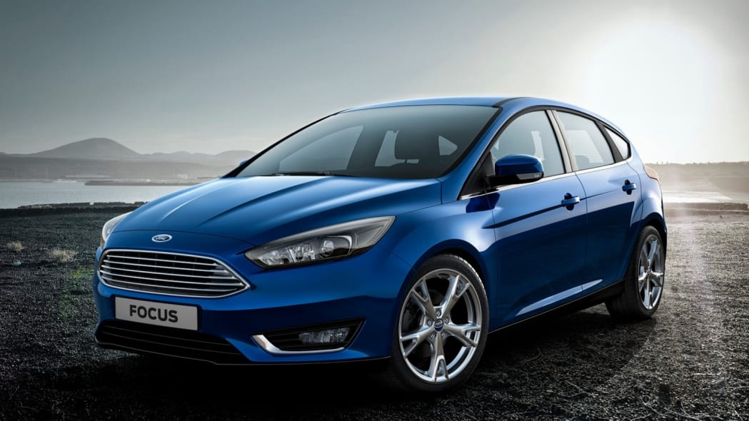2015 Ford Focus SE EcoBoost in blue