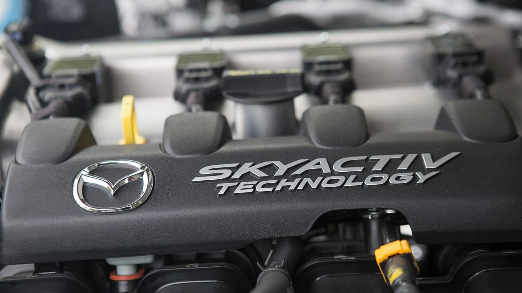 2016 Mazda MX-5 Miata engine