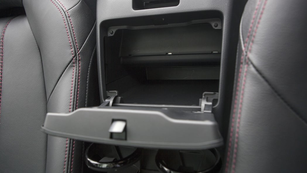 2016 Mazda MX-5 Miata storage bins
