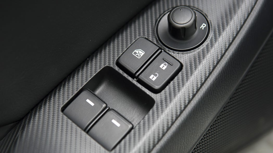 2016 Mazda MX-5 Miata door controls