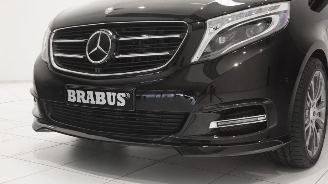 Mercedes-Benz V-Class by Brabus front detail