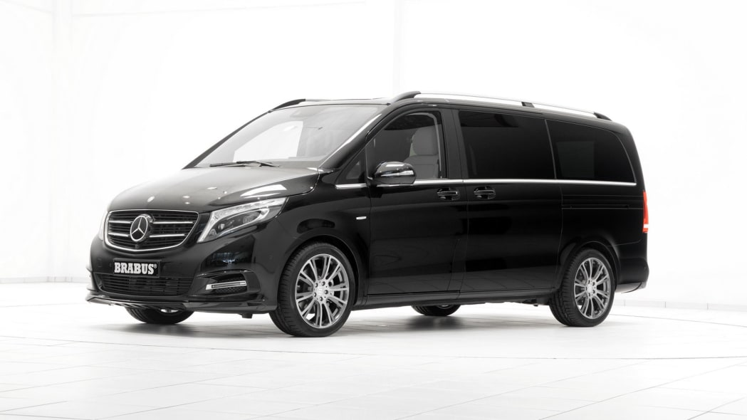 Mercedes-Benz V-Class by Brabus front 3/4