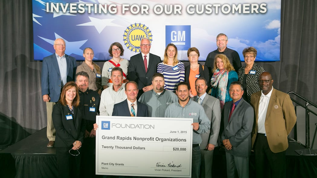 GM Grand Rapids Operations investment