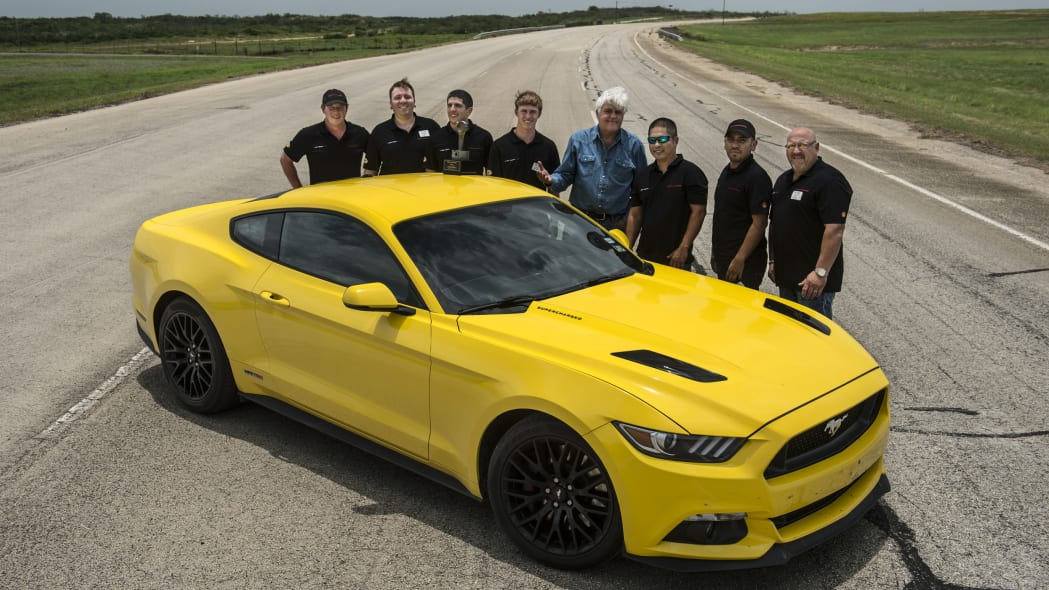 yellow hennessey performance hpe750 mustang with hennessey team