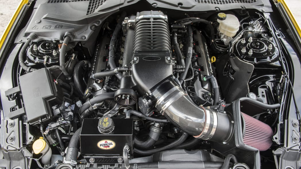 hennessey performance hpe750 mustang engine