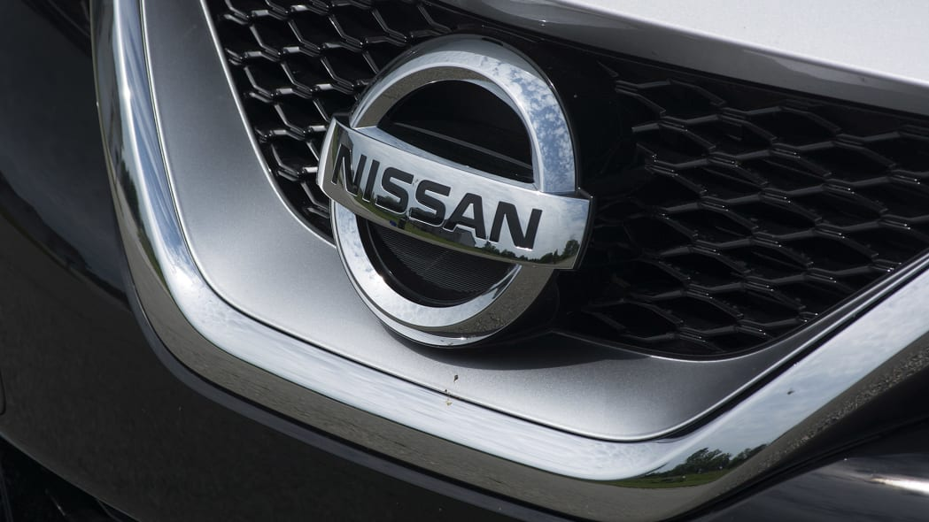 2016 Nissan Maxima grille