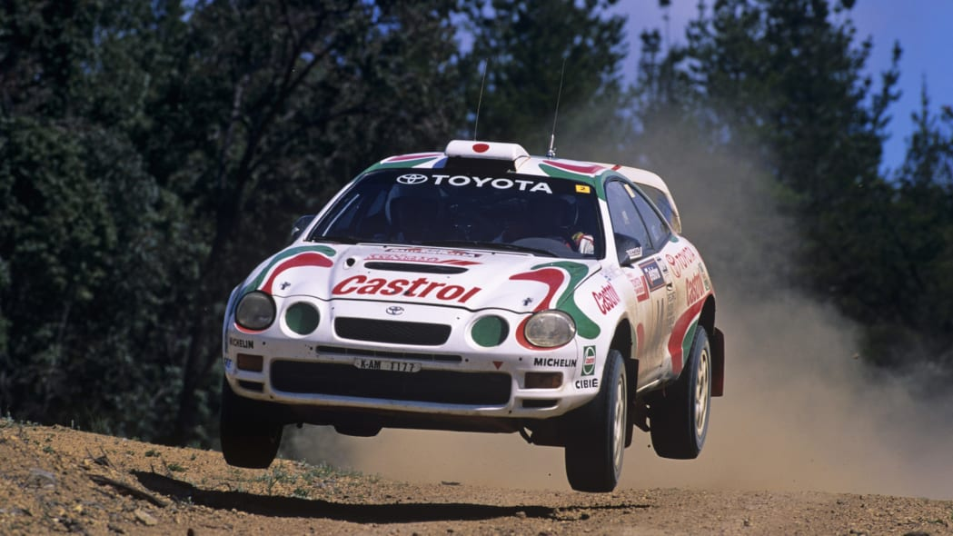 Toyota Celica GT-Four in Castrol livery
