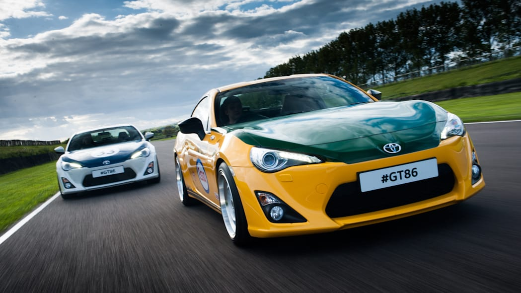 Toyota GT86 classic liveries Yatabe Speed Trial Shelby