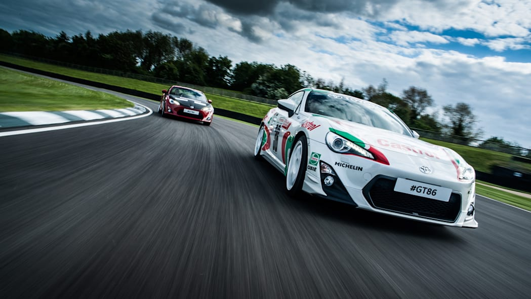 Toyota GT86 classic liveries Castrol Ove Andersson