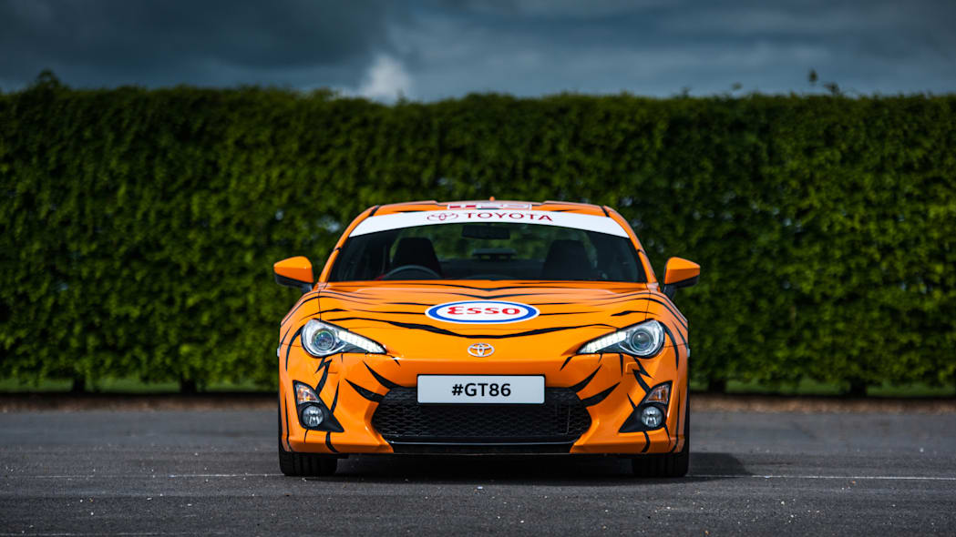 Toyota GT86 in Esso Ultron livery front