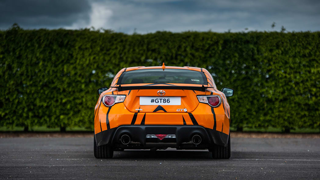 Toyota GT86 in Esso Ultron livery rear