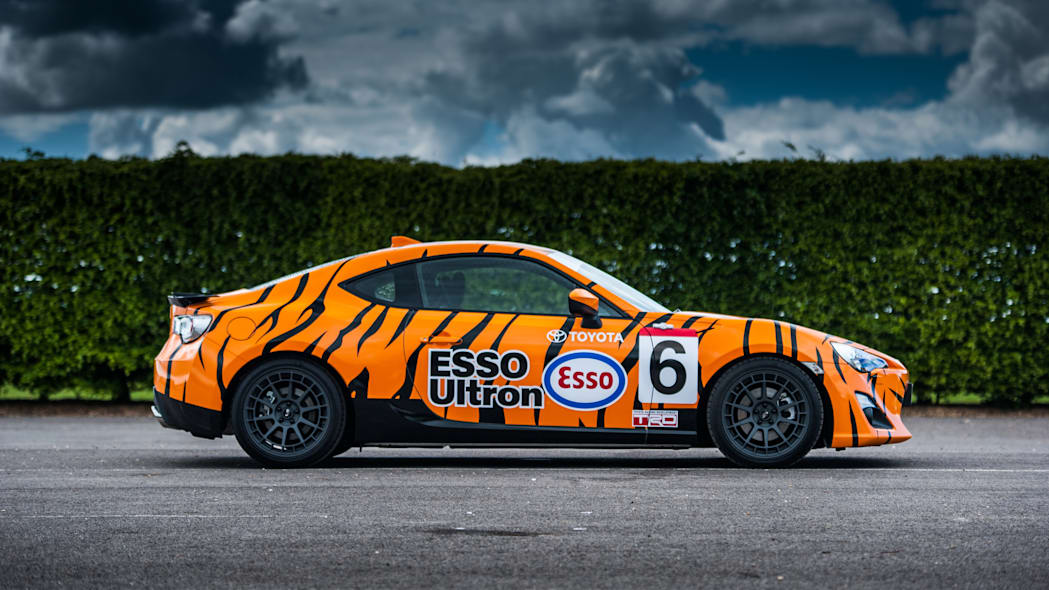 Toyota GT86 in Esso Ultron livery side