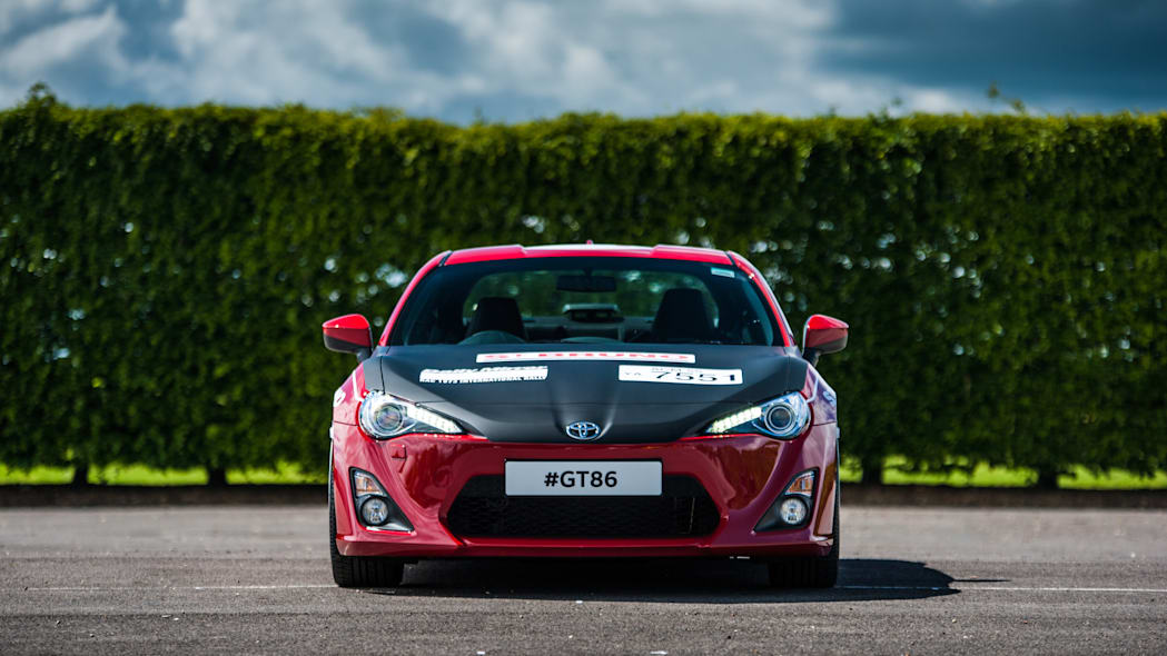 Toyota GT86 in Ove Andersson livery front
