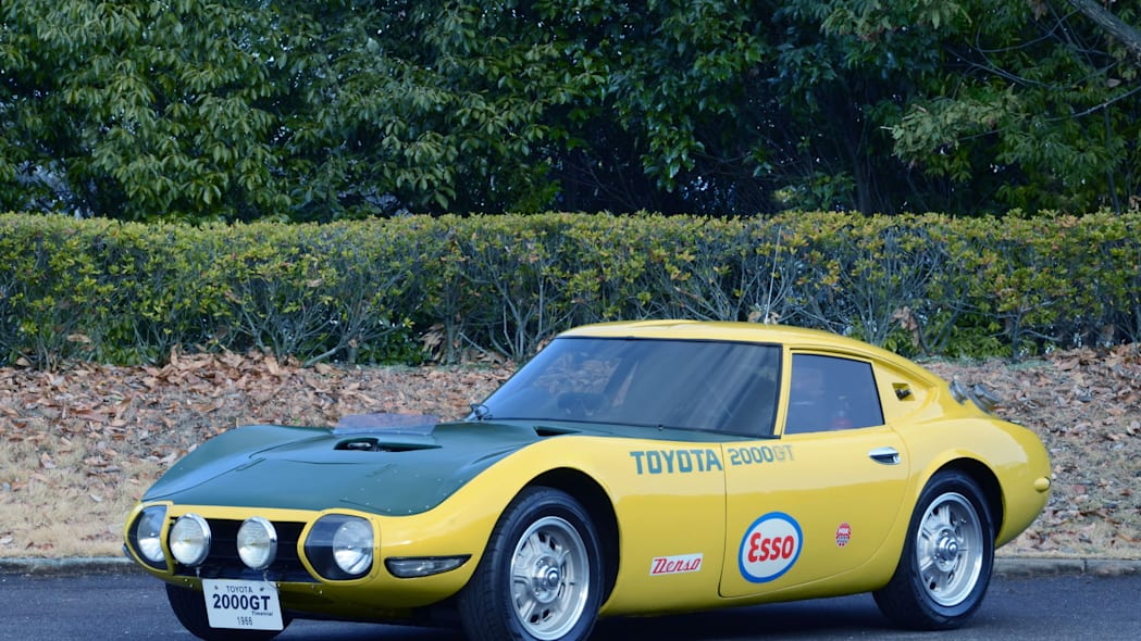 Toyota 2000GT Yatabe Speed Trial