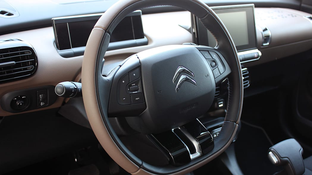 2015 Citroën C4 Cactus steering wheel