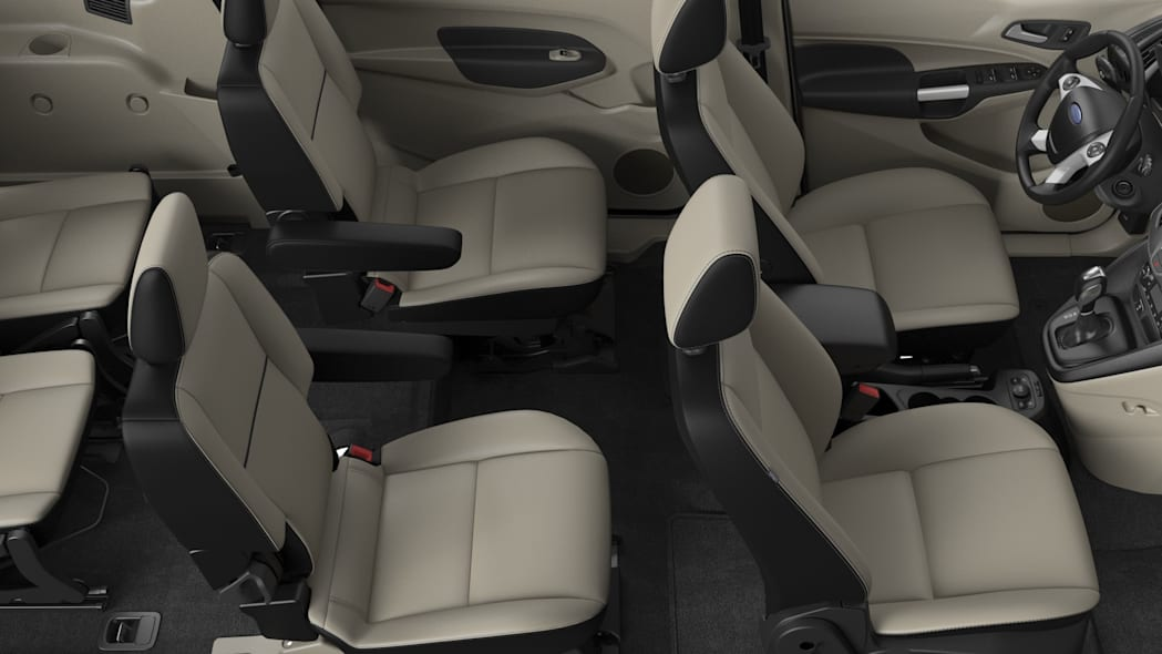2016 Ford Transit connect second row buckets