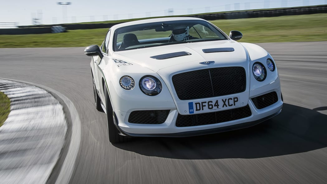 2015 Bentley Continental GT3-R driving