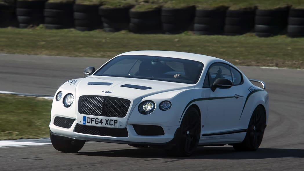 2015 Bentley Continental GT3-R on track