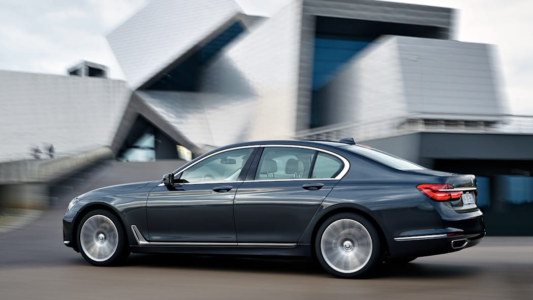 bmw profile 7 series action speed