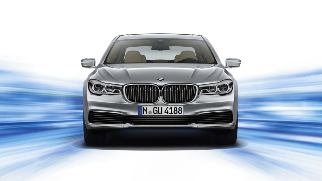 front bmw 7 series hybrid electric