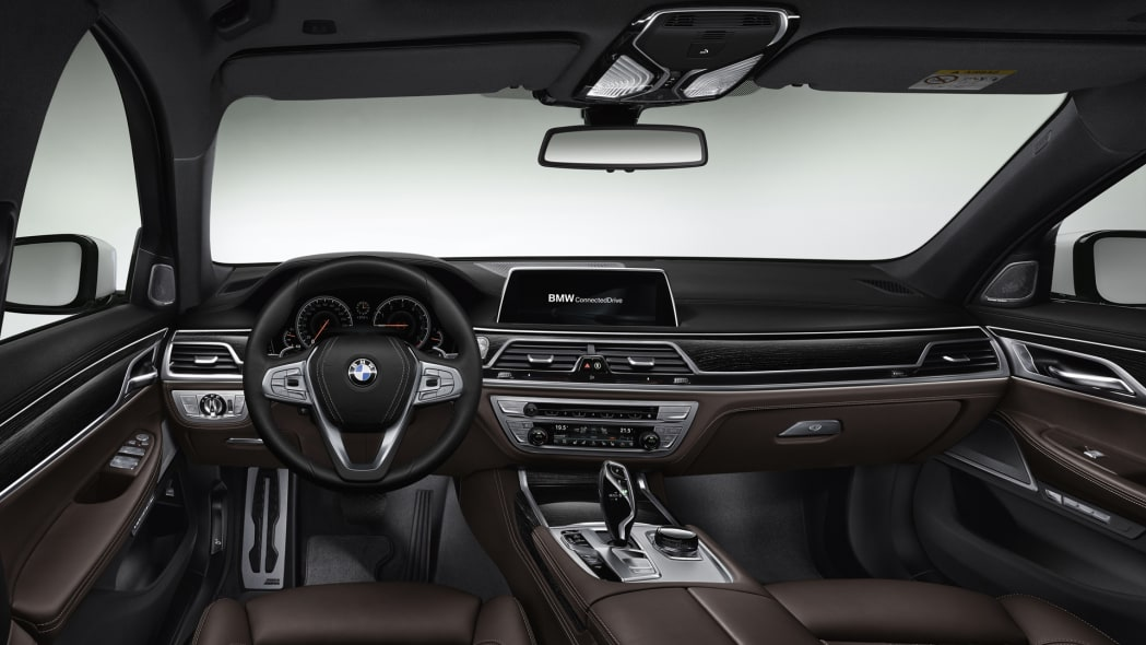 2016 bmw 7 series cabin leather brown