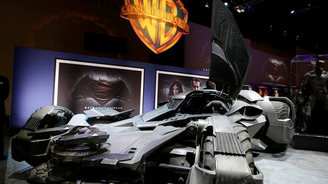batmobile reveal in vegas