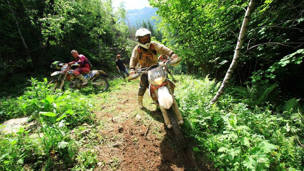 erzberg rodeo through the forest