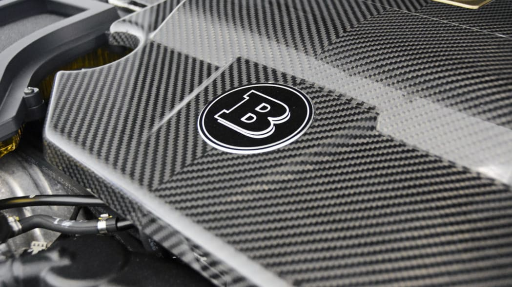 Mercedes-Maybach S600 Brabus engine cover