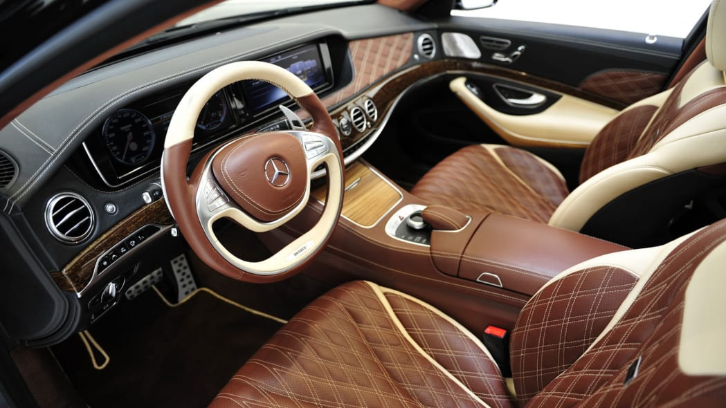 Brabus Maybach S600 interior