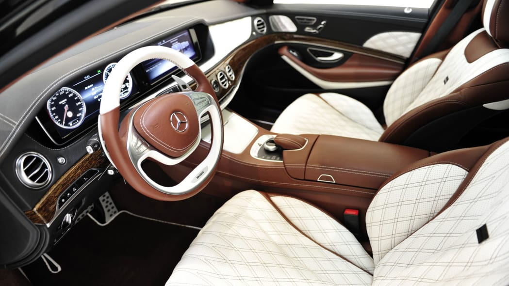 Mercedes-Maybach S600 Brabus interior