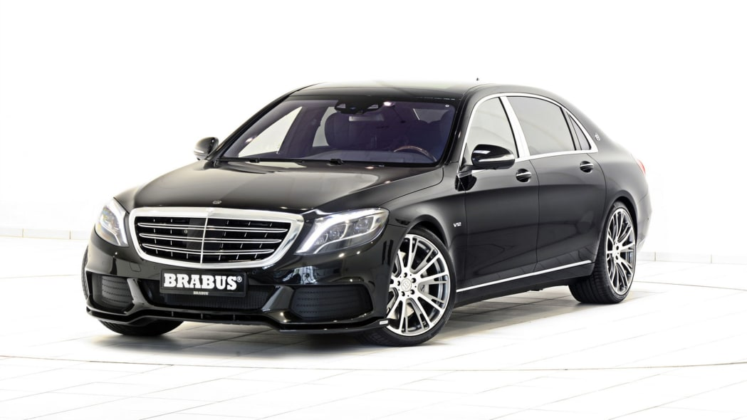 Mercedes-Maybach S600 by Brabus front 3/4