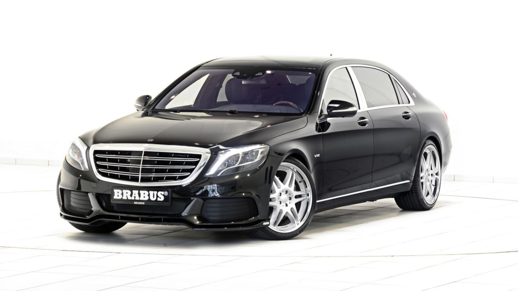 Brabus Maybach S600 by front 3/4