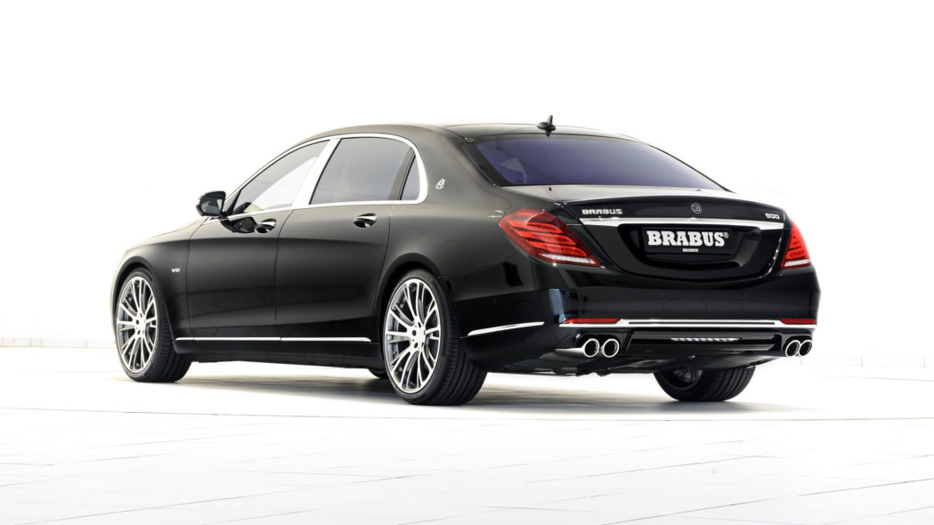 Mercedes-Maybach S600 by Brabus rear 3/4