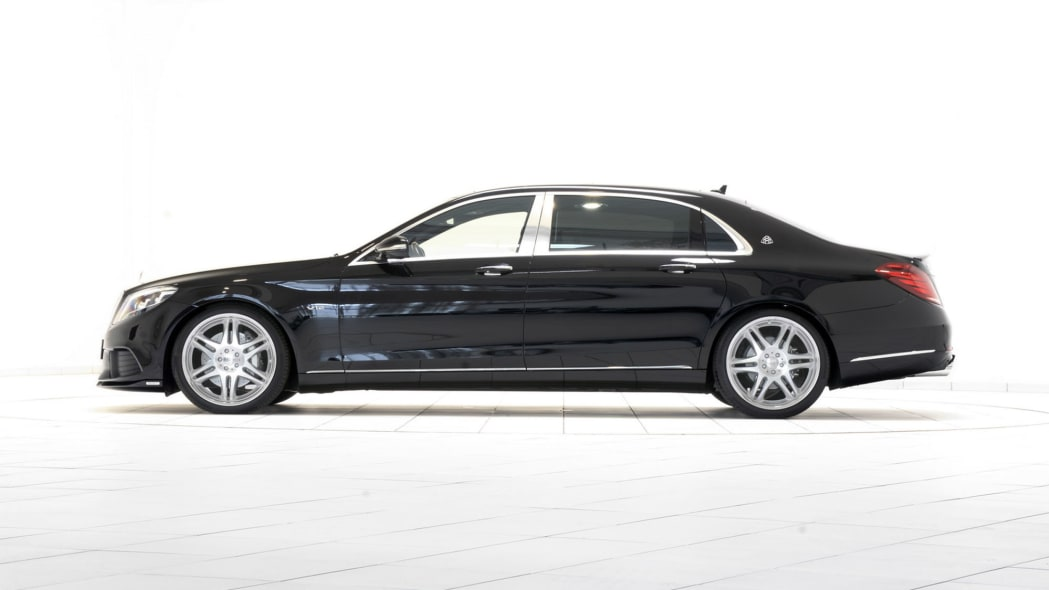 Brabus Maybach S600 side