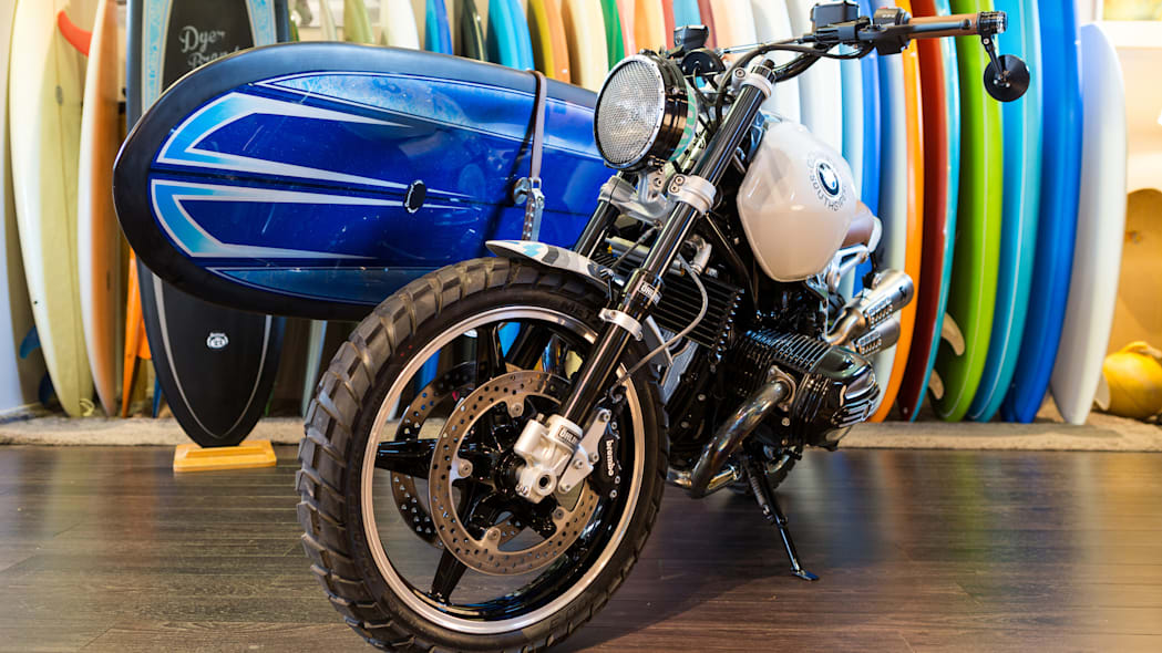 BMW Concept Path 22 surf board front 3/4