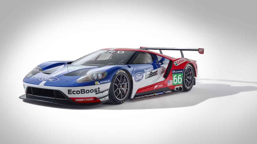 Ford GT LM GTE Pro front side 3/4