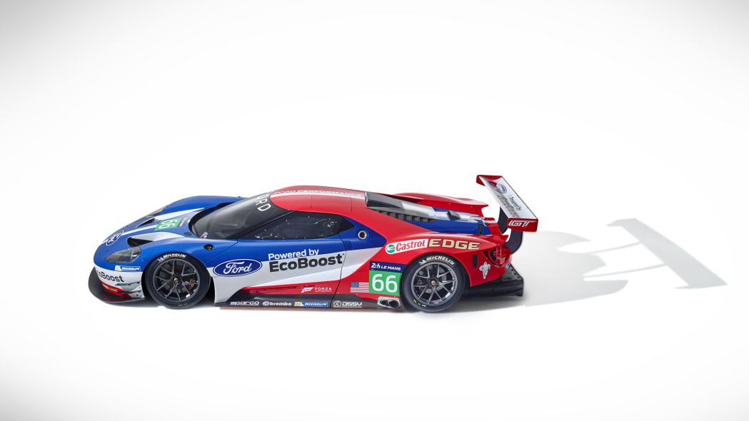 Ford GT LM GTE Pro top side