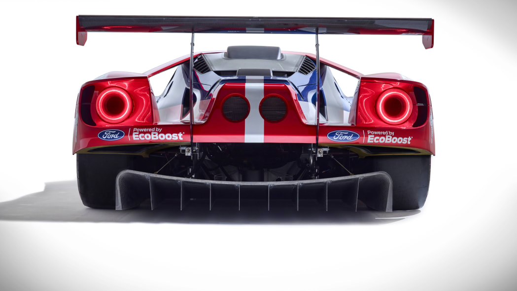 Ford GT LM GTE Pro rear