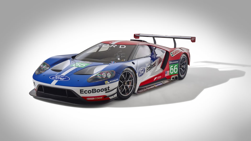 Ford GT LM GTE Pro #66 front 3/4