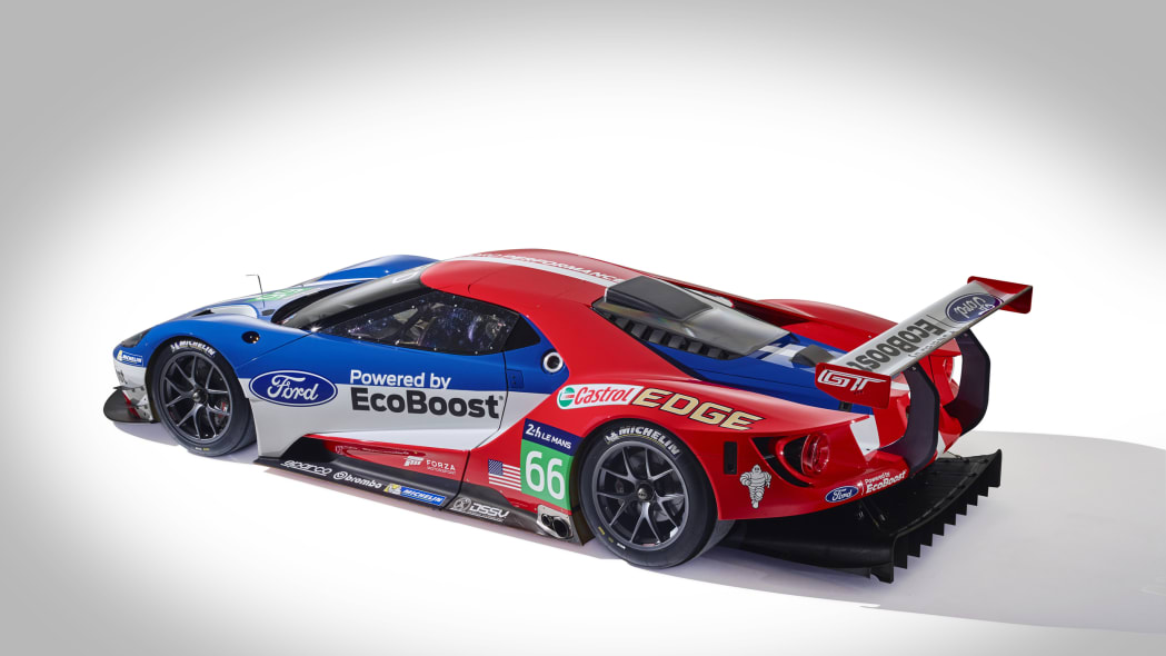 Ford GT LM GTE Pro side rear 3/4