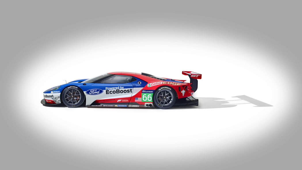 Ford GT LM GTE Pro side