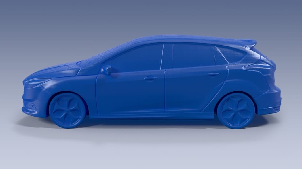 3D printed Ford Focus ST