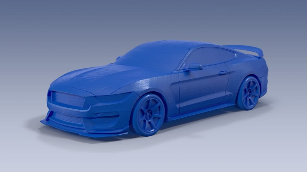 3D printed Ford Shelby GT350